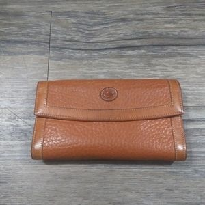 Dooney And Bourke Wallet Leather Tan